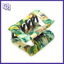FASHION MAGNETIC HAIR CLIP FOR WOMEN,HAIR COLOR PRODUCT WITH FABRIC,WHOLESALE HAIR ACCESSORIES
