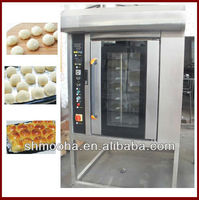 high temperature circulating hot air rotating convection oven (8 trays ,LATEST DESIGN)
