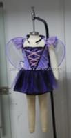 Wholesale fashion halloween party cosplay ballerina bat girl dress for children