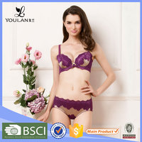 Made in China Ultimate Adjustable Hot Girl Women Underwear Sex Dress Bra Set