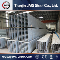 41*164mm GI Double C Steel Channel Profile/ Double C Steel Slot/Double Steel High Hat Furring Channel
