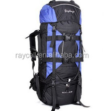 80L large capacity ripstop nylon outdoor travel hiking camping mountaineering backpack bag