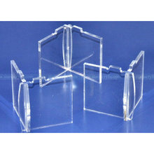 Set of 3 Detachable Extending Legs for 7-Tier Acrylic Cupcake Stand Feet for tiered Acrylic Cake Stand Acrylic Legs