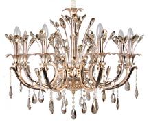 Christmas home loft elegant new golden chandelier with 6 heads flower hanging lamp