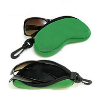 Promotional neoprene sunglasses pouch, soft eyewear case holder