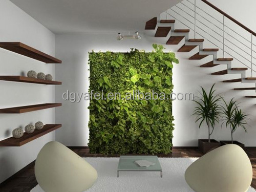 d coratifs pour la maison artificielle int rieur vert mur. Black Bedroom Furniture Sets. Home Design Ideas