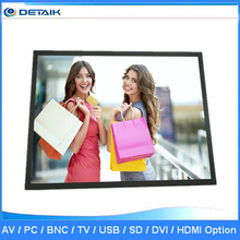 Metal Bezel 19 inch BNC LCD Monitor with HDMI