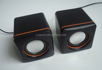 portable mini usb round speaker for laptop good sound small round shaped mini portable speakers