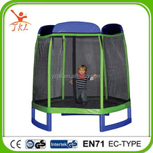 7.5ft competition trampoline/trampolining with safety enclosure for sale