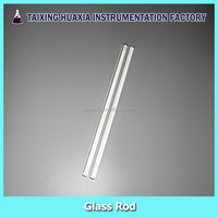 Borosilicate solid glass rod for stirring