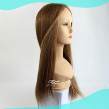 Long Gorgeous Silky Straight Virgin Hair Jewish WIg Wholesale China