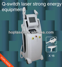 big laser scar and tattoo removal appliance( IPL&RF&Laser)