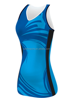 Custom Sublimated Netball Jersey/Netball Uniforms/Netball Dresses
