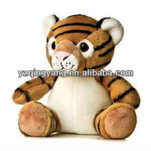 New arrival big eyes fashion design and cute stuffed plush tiger toy for children