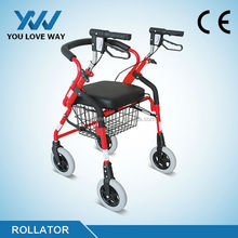 Customized new products rollator with wire basket
