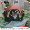 600D polyester animal Cat Dog Laceration resistant mini pop up pet tent