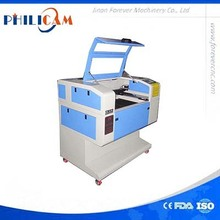 China mini laser engraving and cutting machine 600*400mm / cut and engrave electron element
