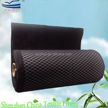 G4/G3 Wire mesh backed activated carbon roll filter media