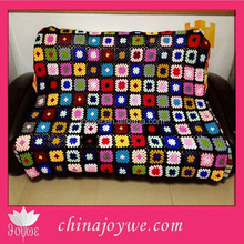 Handmade Children Flower Blanket Kids Bed Products Knitted Baby Crochet Blanket
