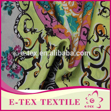 Fabric textile supplier China wholesale Designer Garments print to fabric