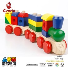 Wooden block Train Toddler Toy(New)