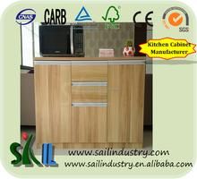 Venta al por mayor barato de China utilizado gabinete diseño del gabinete de cocina / cocina puerta del armario simple designs