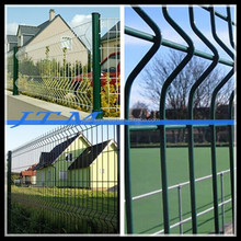 (16years factory)Welded wire mesh fence 5x5,green vinyl coated welded wire mesh fence