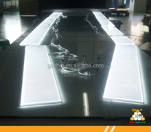 New customized series LED acrylic panel with grooved LED light strip