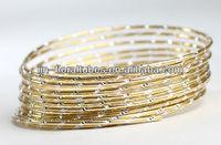 Diamond cut Aluminum Wire 2 mm in 10 m rings