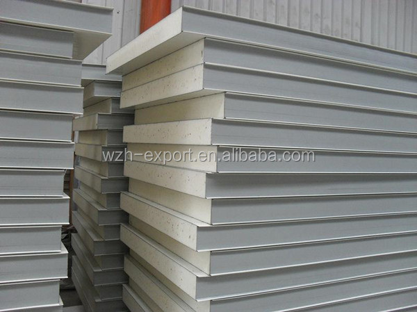 Cheap building materials cold room polyurethane insulation for Cheap house materials