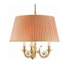 Home deco large fabric hanging light modern led pendant lamp