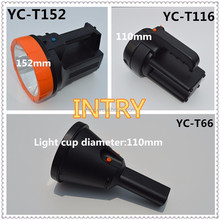Long strong discharge long shots LED flashlight and searchlights YC-T66 we focus on outdoor lighting