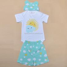 2015 cute fancy 100%cotton knitting patterns plain dresses toddler girls BB058