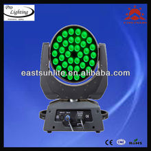 China zoom 36pcs10w led moving head wash light decoration disco