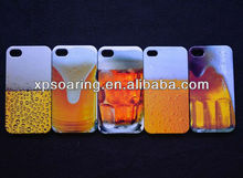 Beer designed back case cover for iphone 4g 4s