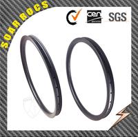 new arrival 650C mtb wheels Soarrocs 40mm width hookless tubeless clincher rims carbon rim 26 mtb