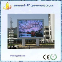 Outdoor full color p10 led advertise display interactive board