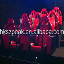 Peak season! 7d amusement ride kid entertainment 9d cinema racing simulator with motion chair