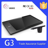 High quality Ugee G3 9x6 inches 2048 levels digital pen tablet pc
