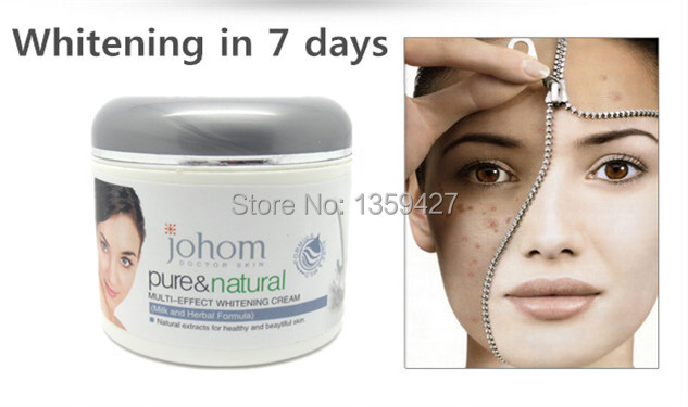 Hot Selling Black Skin Whitening Glow Face Cream Whitening