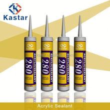 acrylic sealer 100%flexible,white caulk,good price,sample free