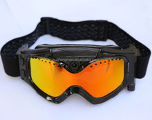 HD 720P camera ski goggle with bag