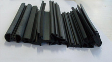rubber Edging Seals used for creating a tight seal around an aperture such as a winding window on a car door