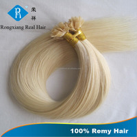 Cheap Wholesale Human Remy Italy Keratin cold fusion hair extensions