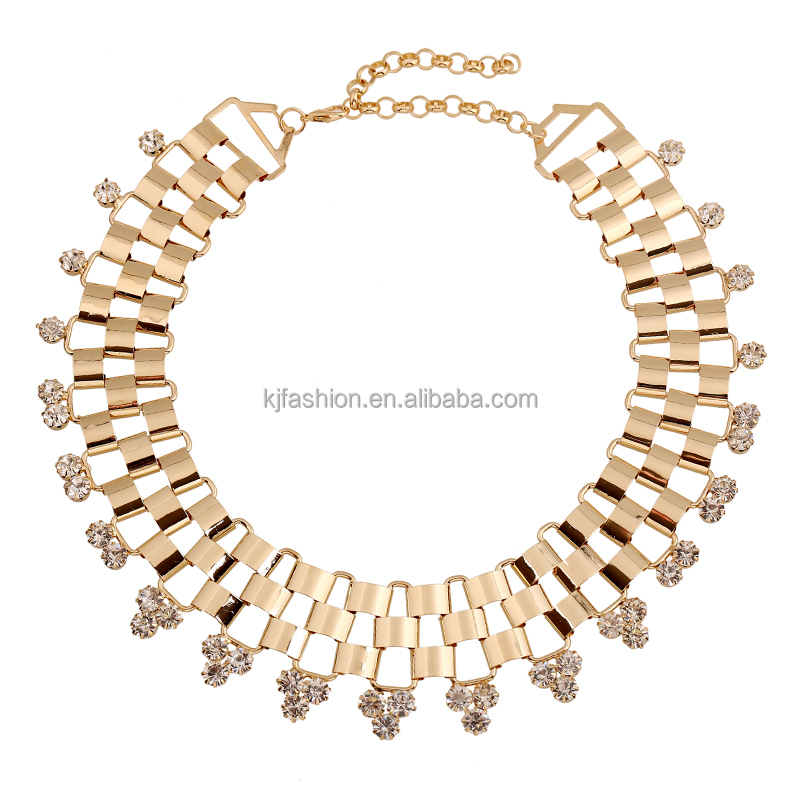 wholesale fashion statement mental jewelry for