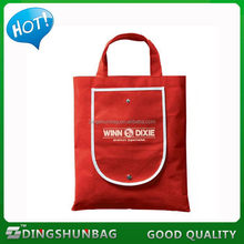 Design best sell cheapest non woven foldable shopping bag