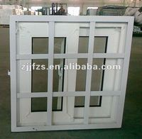 PVC Window with steel frame, PVC security windows and doors