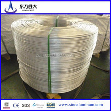 Hot Sale!!! 6201/6101Aluminum wire used the shielding of coaxial cable