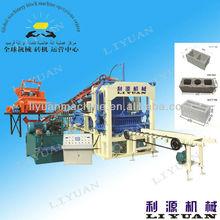 Liyuan Brand Qt4-15 Automatic Concrete Brick Machine/Fly Ash Brick Machine On Sale(export Brick Machine More Than 60 Countries)