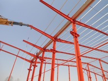 Easy transport and Installation, low cost strong steel structure warehouse1066